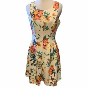 Candies super stretchy floral sleeveless dress